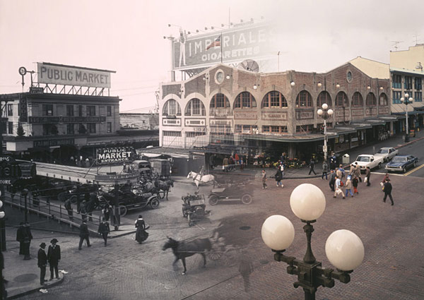 Pike Place Market, Then & Now
