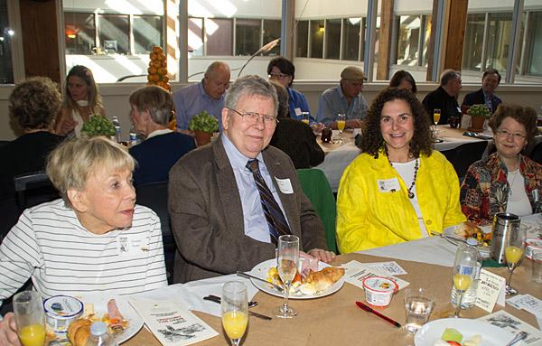 Ernalee & Jerry Thonn, attorney, FoM former president & current board member (FoM co-founder, political strategist & campaign leader), Phyllis Rosen & guest